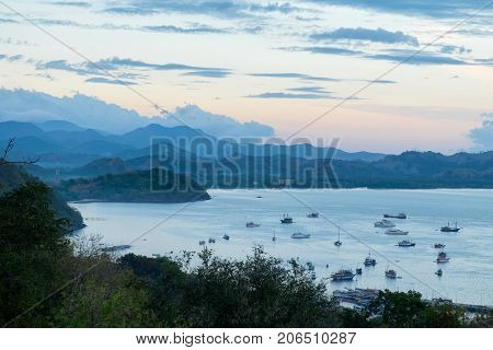 Labuan Bajo Port in Flores Island East Nusa Tenggara Indonesia