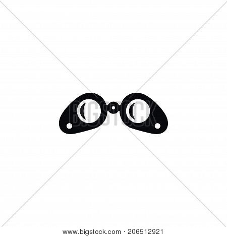 Optical Vector Element Can Be Used For Optical, Zoom, Binoculars Design Concept.  Isolated Lens Icon.