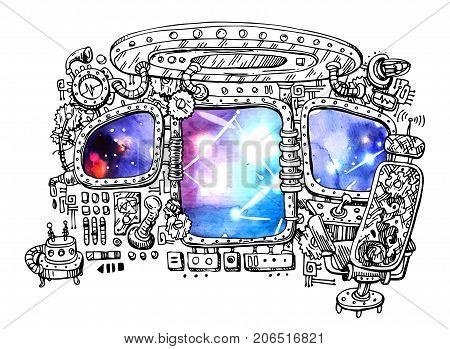 steunk vehicles images illustrations vectors