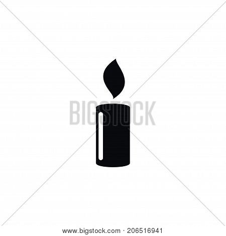 Lightup Vector Element Can Be Used For Candlelight, Candle, Suppository Design Concept.  Isolated Candlelight Icon.