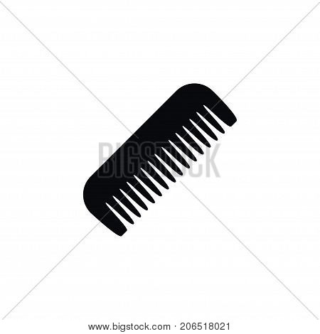 Barbershop Vector Element Can Be Used For Comb, Hairbrush, Barbershop Design Concept.  Isolated Comb Icon.