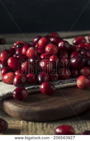 Raw Red Organic Cranberries