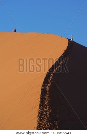 Dune 45 in the Namib Desert
