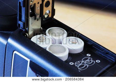 Batteries In Camera