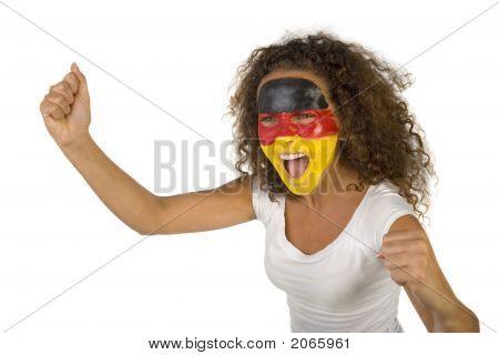 Screaming German Fan
