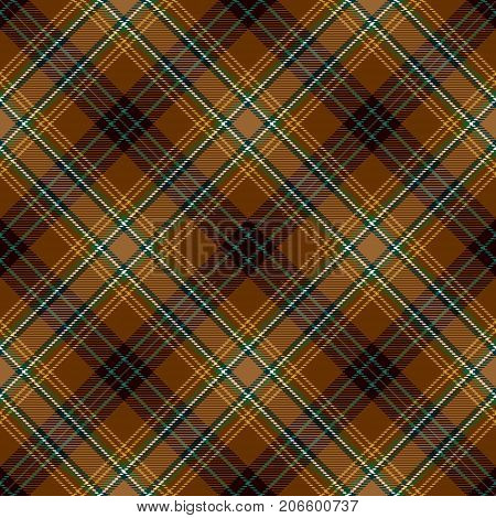 Tartan Seamless Pattern Background. Green Brown Gold and White Plaid Tartan Flannel Shirt Patterns. Trendy Tiles Vector Illustration for Wallpapers.