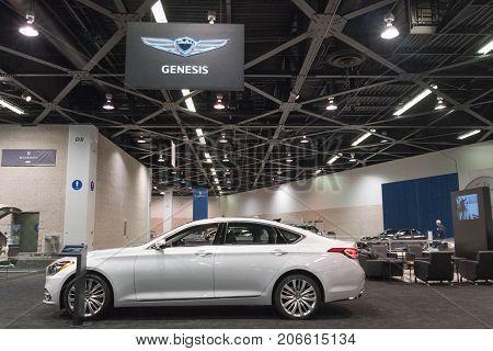 Genesis G80 On Display