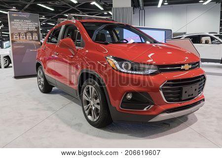 Chevrolet Trax On Display