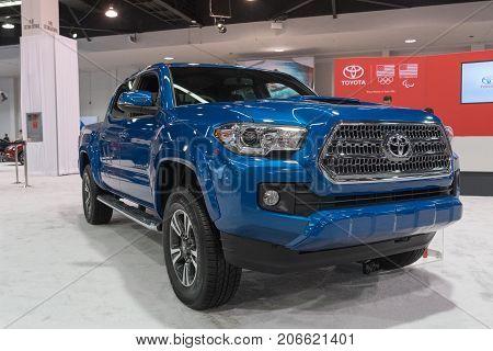 Toyota Tacoma On Display