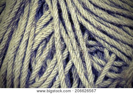 Crude Lanyard Background Used To Make Knots A