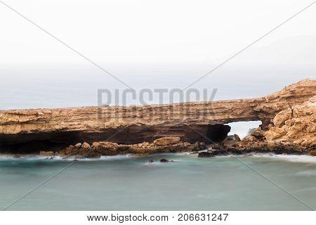Rock Arch Long Exposure