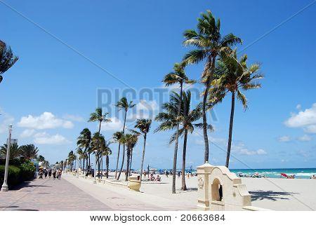 Hollywood,Florida Beach