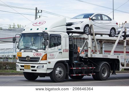 Ani Logistics Group Carrier Trailer Truck For Honda Car
