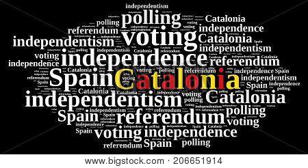 Referendum In Catalonia, Spain.