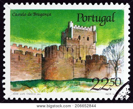 PORTUGAL - CIRCA 1986: A stamp printed in Portugal from the