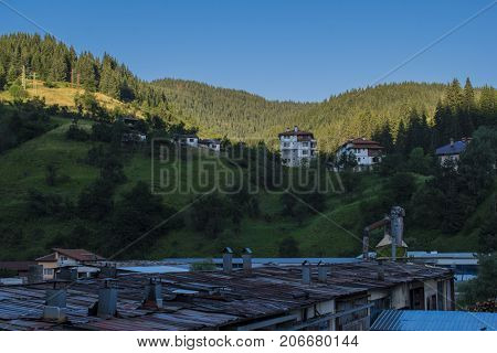Chepelare is a town and famous winter resort in southern Bulgaria. It is located in the region of Smolyan 10 km north of Pamporovo resort.