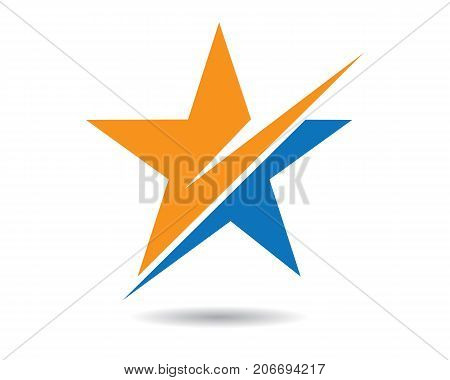 Star Logo Template vector icon illustration design