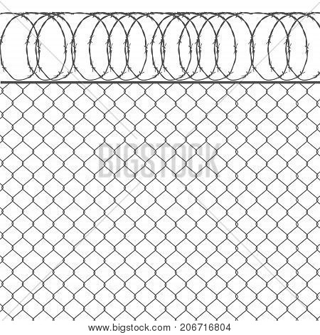 Metal Fence Vector