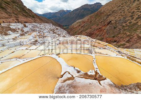 White Salt Pans Also Known As