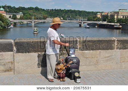 Puppeteer In Prague