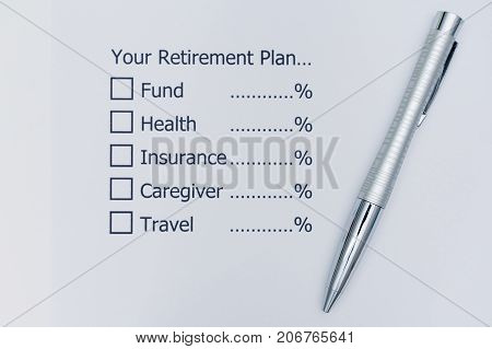 Planning the future that after retirement you should allocate your money?