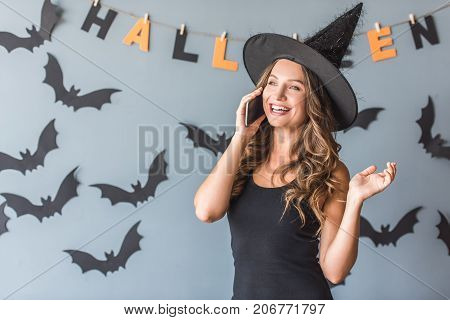 Woman Ready For Halloween