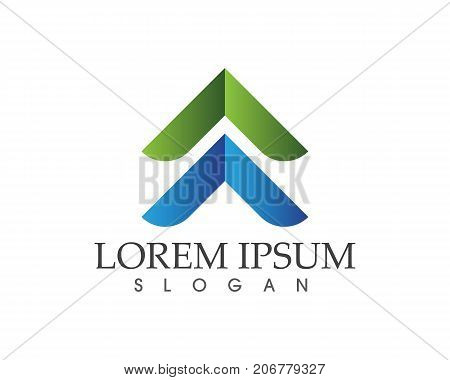 Business Finance Logo And Symbols Vector Concept Illustration