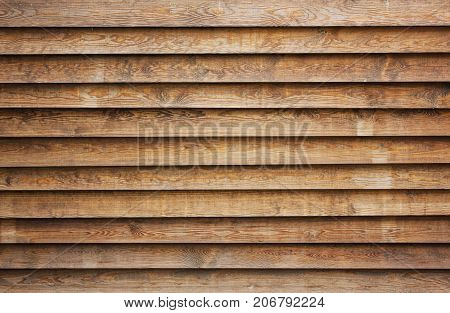 natural brown wood lath line arrange pattern texture background.