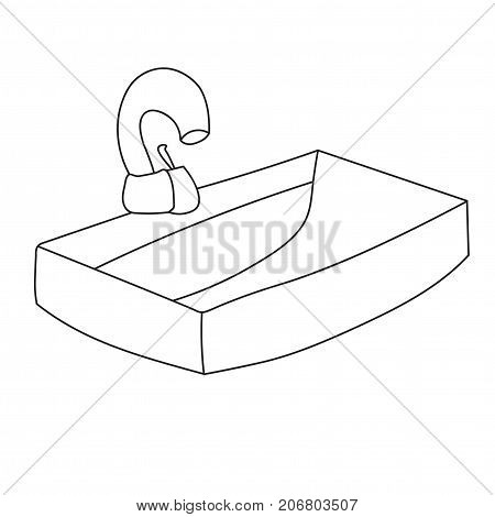 Sink Water Tap Vector Photo Free Trial