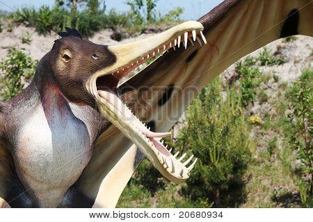 Dinosaur - Cearadaktyl (Ptrodactyloidea, Pterosauria - Cearadactylus )