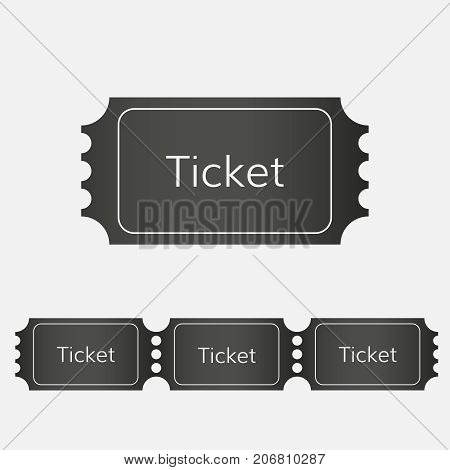 raffle ticket icon vector cinema ticket  event ticket