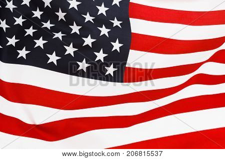 USA flag background. American symbol of independence democracy and patriotism