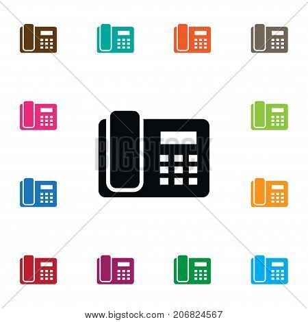 Dial Vector Element Can Be Used For Call, Phone, Dial Design Concept.  Isolated Call Icon.