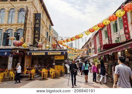 Shopping In Singapore Chinatown