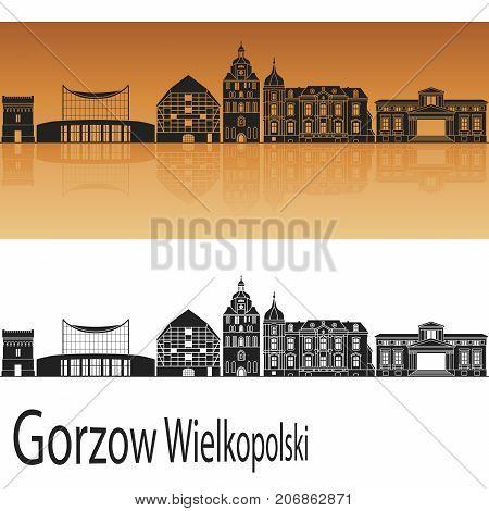 Gorzow Wlkp Skyline
