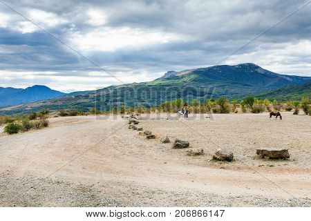 Horseback Excursion In The Valley Of Ghosts
