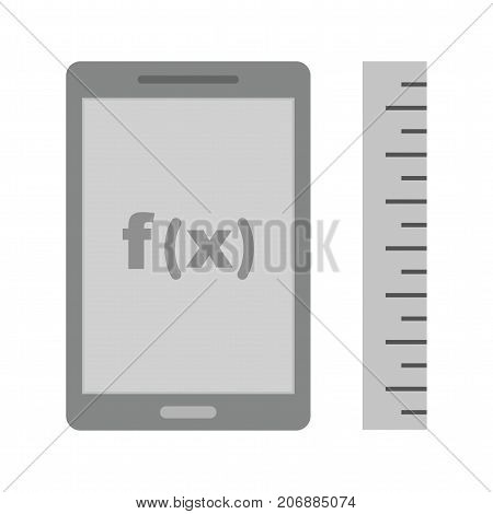 Function, maths, calculus icon vector image. Can also be used for Math Symbols. Suitable for use on web apps, mobile apps and print media.