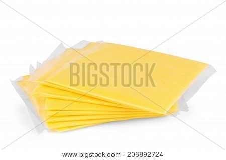 cheese slices on white background Cheese, Slices, Chees, Yellow, Background, Swiss,