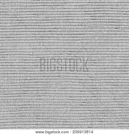 Dark gray woven fabric texture, copy space