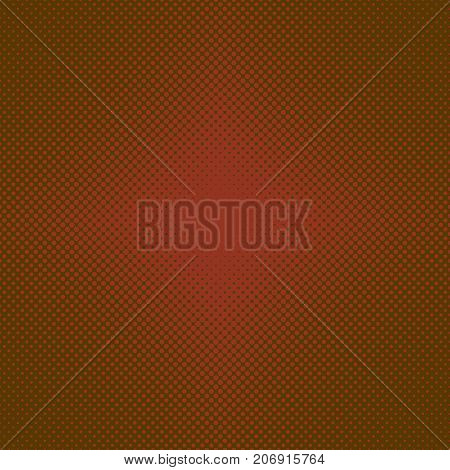 Halftone dot pattern background - vector design from circles in varying sizes
