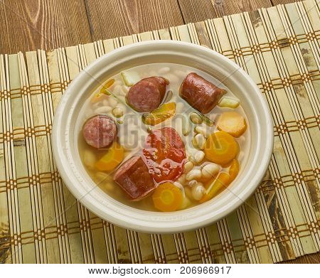 Croatian Bean Soup