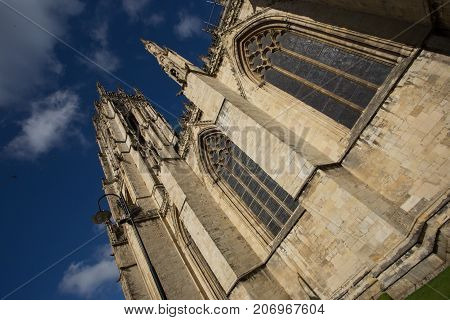 York Minster Cathedral, Transept and Stained Glass Windows