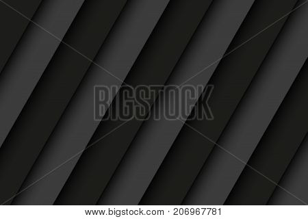 Black and grey metal stainless steel background with diagonal stripes