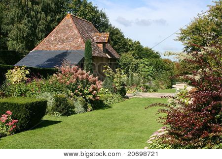 Normandy Country Garden With Lawn