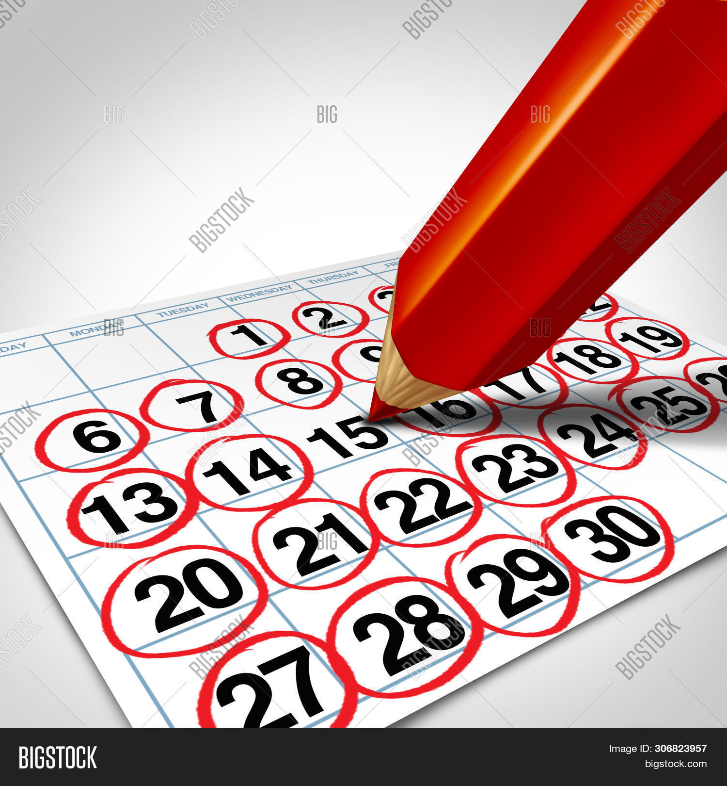 Busy Business Schedule Image & Photo (Free Trial) | Bigstock