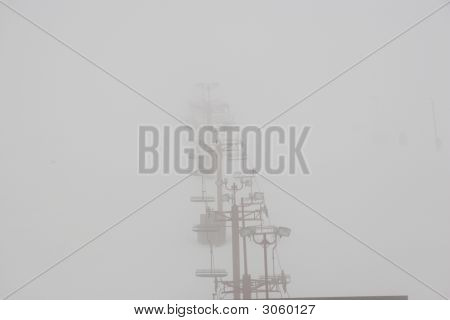 Foggy Chairlift