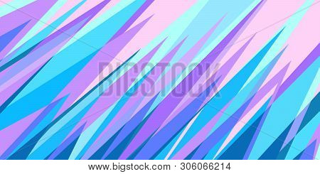 Blue Pink Abstract Background Eighties Style 80s. Comic Cartoon Pop Art Retro Vector Illustration Dr