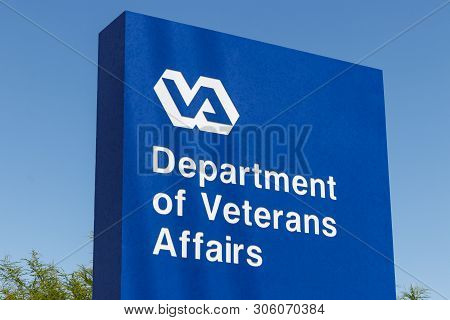 Las Vegas - Circa June 2019: Veterans Affairs Signage And Logo. The Va Provides Healthcare Services