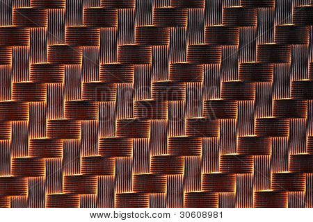 3d Carbon fiber background light
