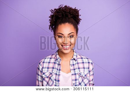 Close-up Portrait Of Her She Nice-looking Charming Cute Attractive Shine Winsome Lovely Lovable Chee